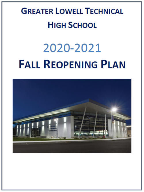 2020/2021 Fall Re-opening Plan