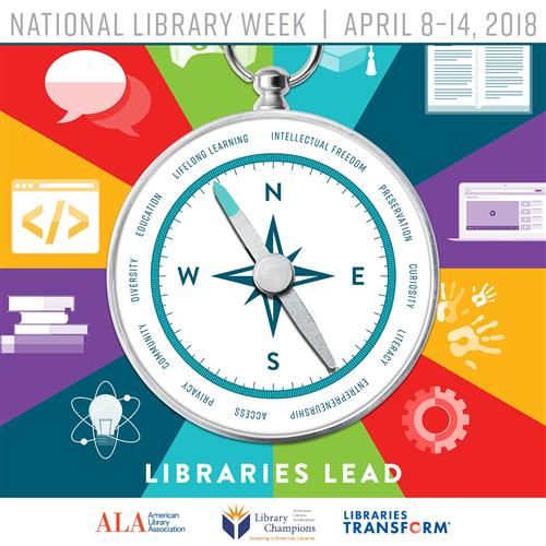 Libraries Lead ALA graphic
