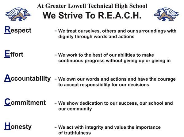 R.E.A.C.H. - Our Motto